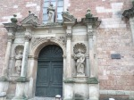 Front door of St. Peter's Church, Riga
