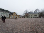 old town hall square, Porvoo, Finland