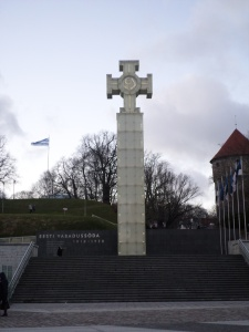 monument to the war of independence, Tallinn, Estonia