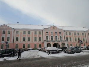 Parliament building, Tallinn, Estonia