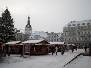 Tallinn square, Estonia
